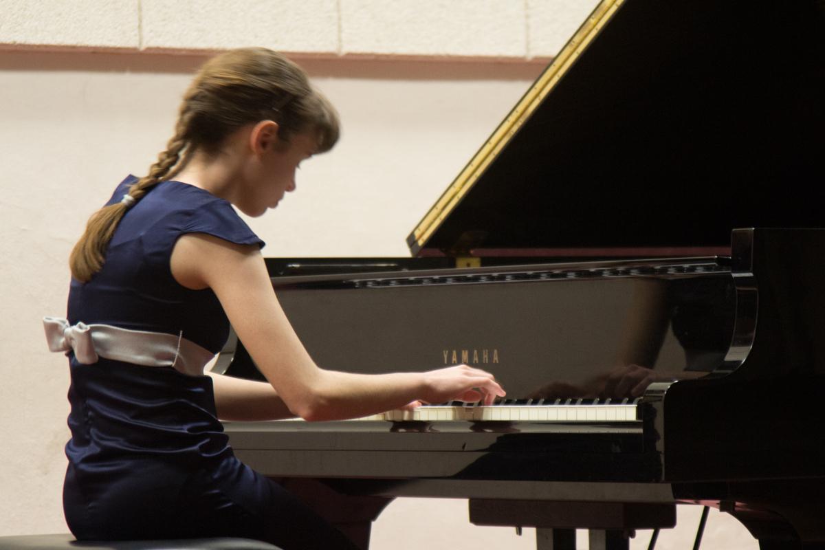 Federica Tremolada al Pianoforte